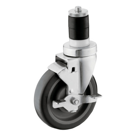 05E23UF2-Medium-Duty-Expanding-Adapter-Casters-with-Brake