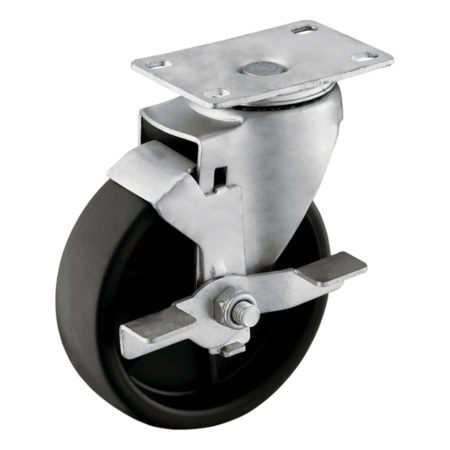 05P13PA2-Medium-Duty-PP-Casters-with-Wheel-Brake