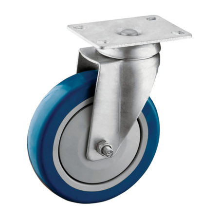 05P23UF0-Medium-Duty-Blue-PU-Casters